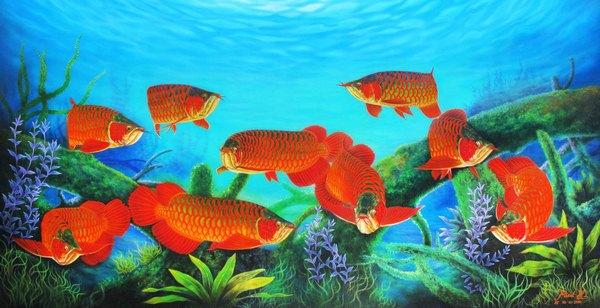 Thẻ alt của ảnh là: Cách nuôi cá cảnh đúng dựa trên số lượng cá hợp mệnh gia chủ.